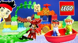 Video Unboxing the Jake and the Neverland Pirates  Lego Duplo Peter Pan Toys MP3, 3GP, MP4, WEBM, AVI, FLV Desember 2018