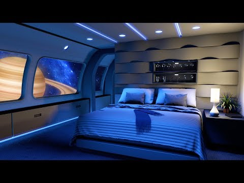 Spaceship Sounds White Noise For Sleeping | Starship Bedroom Ambience 10 Hours