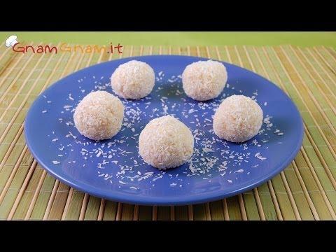 tartufini al cocco - ricetta