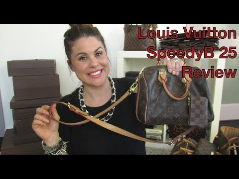 Louis Vuitton SpeedyB 25 review