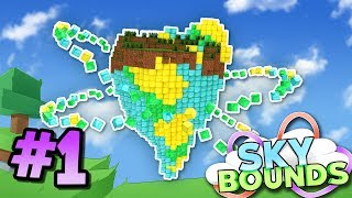 MY NEW ISLAND - Skybounds Minecraft Skyblock #1
