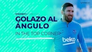 Video Golazo al ángulo y asistencias de Messi en la práctica del Barcelona MP3, 3GP, MP4, WEBM, AVI, FLV Februari 2019