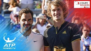 German Sascha Zverev wins his second Masters 1000 title of 2017, handing Roger Federer his first loss in a final this season.