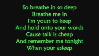 Fall For You-Secondhand Serenade (LYRICS)