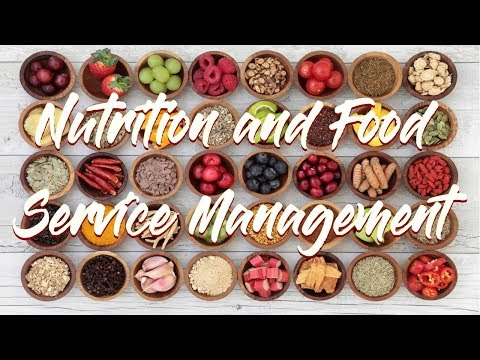 NUTRITION AND FOOD SERVICE - DIPLOMA 2 ANOS