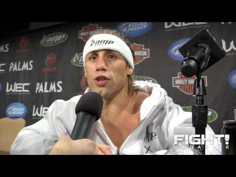 Urijah Faber Post Fight wants to be Coach Vs Miguel Torres on Ultimate Fighter