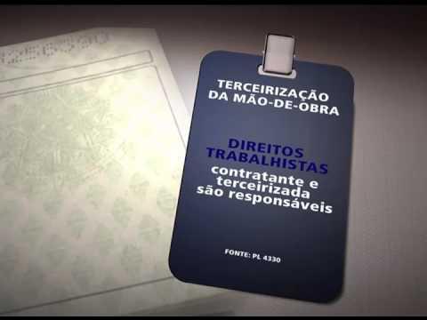 Projeto que amplia a terceirização de mão de obra no Brasil segue agora para o Senado