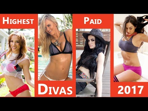 Top 10 Highest Paid and Successful WWE Divas of 2017
