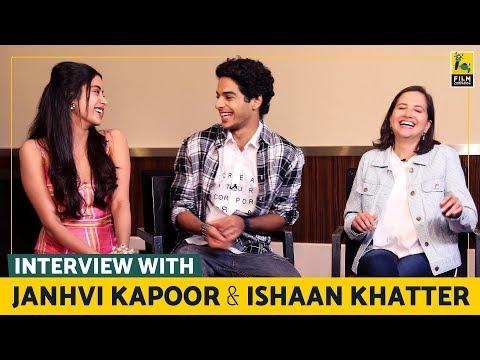 Interview with Janhvi Kapoor and Ishaan Khatter   Dhadak   Anupama Chopra
