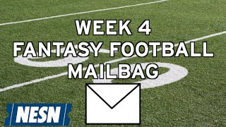 With the NFL season heading into Week 4, fantasy owners across the country are seeking some advice to bounce back in their ...