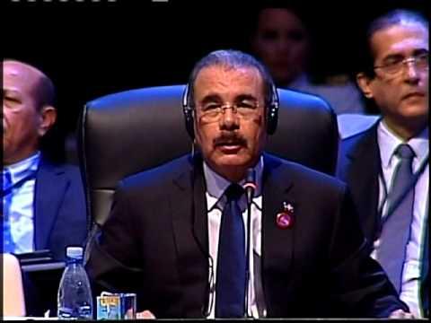 Discurso presidente Danilo Medina en Cumbre CELAC