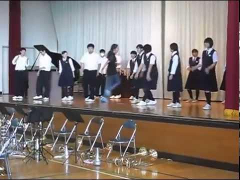 上田市第三中学校 Flashmob INFINITE Bad