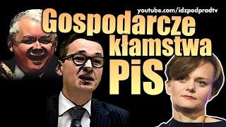 Gospodarcze kłamstwa PiS.
