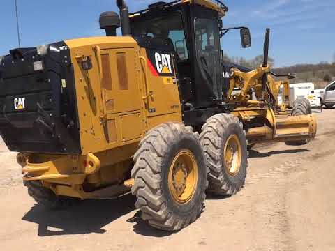 CATERPILLAR NIVELEUSES 140M2 equipment video KS3cwTmK0vc