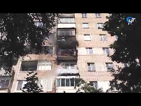 Пожар случился в одном из жилых домов на Торговой стороне