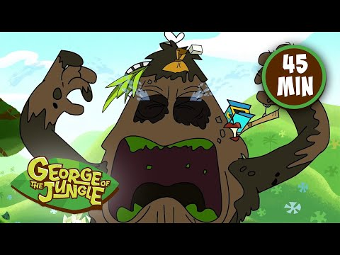 George Of The Jungle | Mess Of Kings | Season 2 | Full Episodes | Kids Cartoon