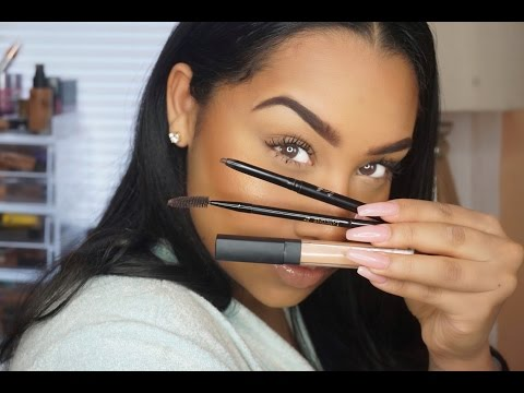 Easy Eyebrow Tutorial X RubyKisses | TheAnayal8ter