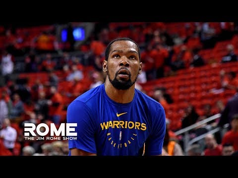 Video: Kevin Durant VENTS Out All His Frustrations | The Jim Rome Show