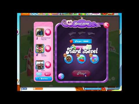 Candy Crush Level 3250 Talkthrough, 23 Moves 0 Boosters