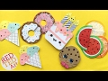 5 Easy Kawaii Bookmark DIYs - DIY Ice Cream, Cookie, Cupcakes, Melon Bookmarks