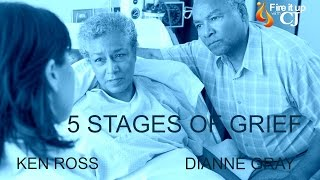 What are the 5 stages of grief? Join CJ as she talks to Dianne Gray, head of the Elisabeth Kubler-Ross Foundation, and Ken Ross, son of Elisabeth Kubler-Ross, ...