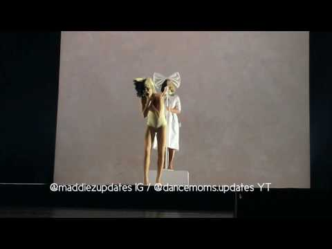 Video Maddie Ziegler's leotard breaks while performing Alive with Sia HQ download in MP3, 3GP, MP4, WEBM, AVI, FLV January 2017