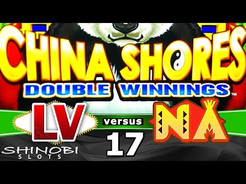 Las Vegas vs Native American Casinos Episode 17: China Shores Double Winnings Slot Machine + Bonus