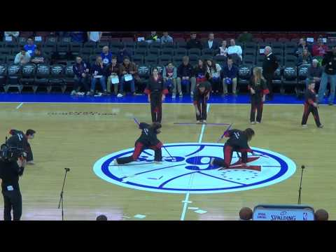 Performed at Philadelphia 76ers Basketball Game, December 2014
