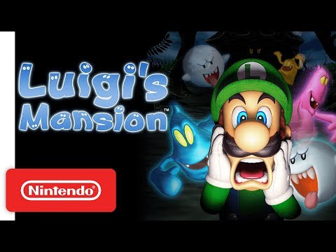 Luigi's Mansion: Not-So-Spooky Trailer - Nintendo 3DS