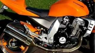 10. Kawasaki z1000 2003 Orange 1000cc