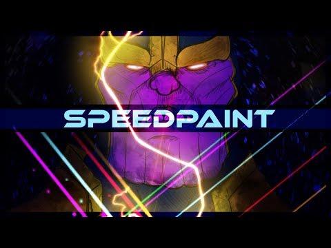 Thanos Marvel Comics SpeedPaint on PSD - Thời lượng: 10 phút.