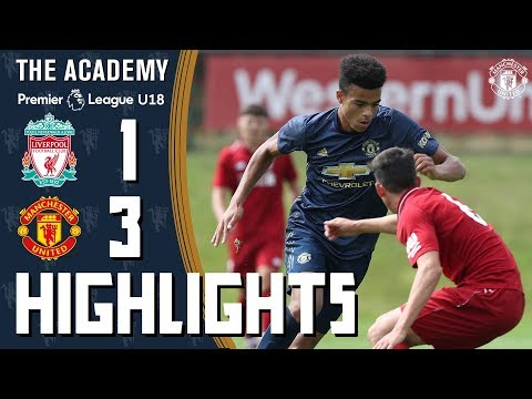 The Academy | Under-18s | Liverpool 1-3 Manchester United | Highlights