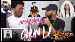 OMG!!!!!!! Nicki Minaj - Chun Li   REACTION!