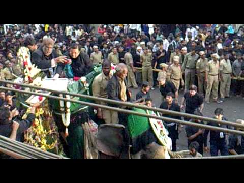 10th MOHARRAM IN HYDERABAD (BIBI KA ALAM)