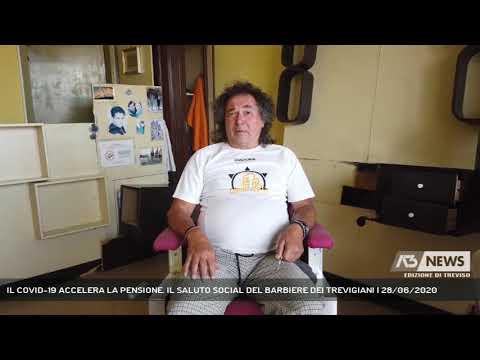 IL COVID-19 ACCELERA LA PENSIONE. IL SALUTO SOCIAL DEL BARBIERE DEI TREVIGIANI | 28/06/2020