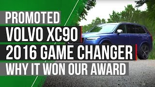 Why the Volvo XC90 won a 2016 Autocar Game-Changer Award by Autocar