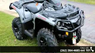 9. 2016 Can-Am Outlander XT 650 Brushed Aluminum  - Action P...
