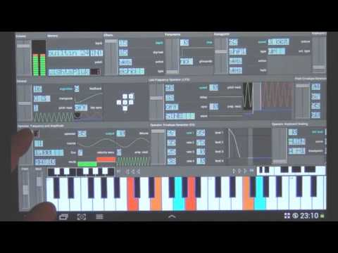 Video of FM Synthesizer [SynprezFM II]