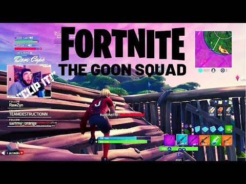 THE GOON SQUAD! Fortnite Twitch Highlights #3