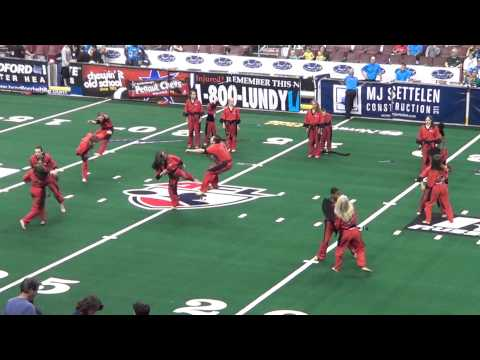 Philadelphia Soul Team Red Dragon Performance 2013