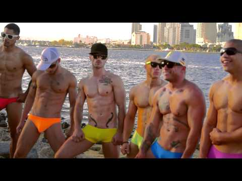 gogoboys - Rich's put together a pride kick-off video featuring the hot Rich's gogo dancers and mega porn star Brent Everett! The video was filmed down in Mission Beach...