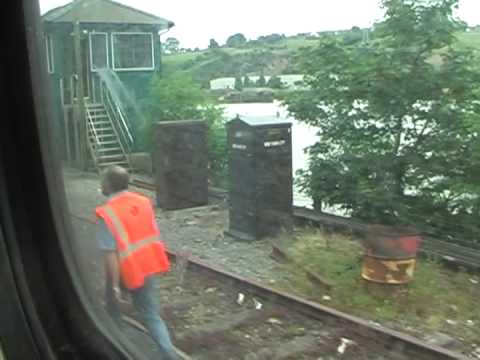 Dublin Cork Line - Some in-train footage shot firstly between Thomastown & Waterford onboard a Mk3 Push/Pull set headed by no. 6103 and propelled in rear by GM 201 class no. 22...