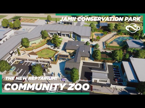 Planet Zoo | The New Reptarium w/Dwarf Caiman! | Jamii Conservation Park | Ep.25