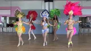 http://www.dancetime.com/ A Brazilian samba dancing performance at Pattie Wells' Dancetime Center for Brazilian Day San ...