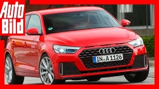 Zukunftsvision: Audi A1 / 2018 / Der Audi A1 reift / Test / Review by Auto Bild