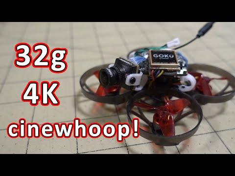 Make a 32g 4K Cinewhoop 😲