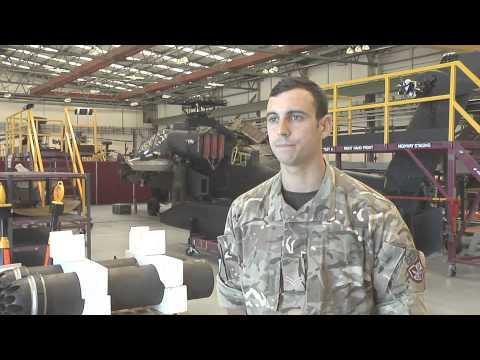 REME Aircraft Technician Career Trade Video