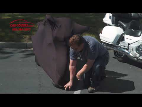 CarCovers.com Introduces Latest Product - Sleek, Sexy Black Satin Indoor Motorcycle Covers And Scooter Covers