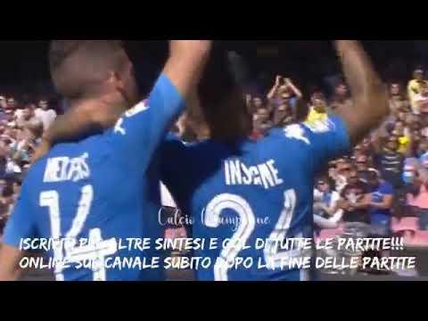 Napoli vs Benevento 6-0 HD HIGHLIGHTS SINTESI & ALL GOALS Premium Sport HD
