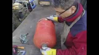 Video Découpage bouteille de gaz étape par étape, how tu cut a bottle gas www.ecoteco.fr MP3, 3GP, MP4, WEBM, AVI, FLV Oktober 2017
